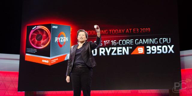 Lộ điểm benchmark AMD Ryzen 9 3950X 16 nhân: đè bẹp đối thủ 18 nhân Core i9-10980XE của Intel, chơi game bao mượt - Ảnh 1.