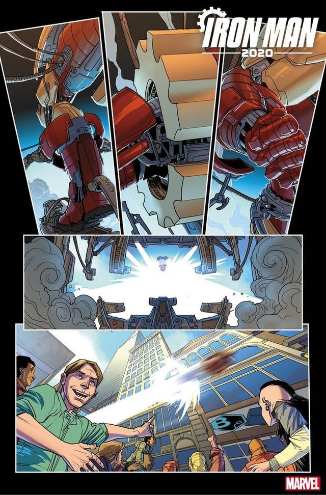 Marvel hé lộ những hình ảnh đầu tiên của Iron- Man 2020, liệu phiên bản này có thay thế được Tony Stark trong MCU? - Ảnh 6.