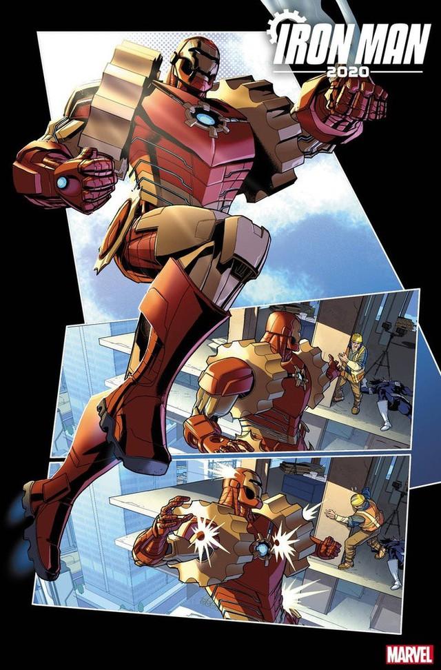 Marvel hé lộ những hình ảnh đầu tiên của Iron- Man 2020, liệu phiên bản này có thay thế được Tony Stark trong MCU? - Ảnh 7.