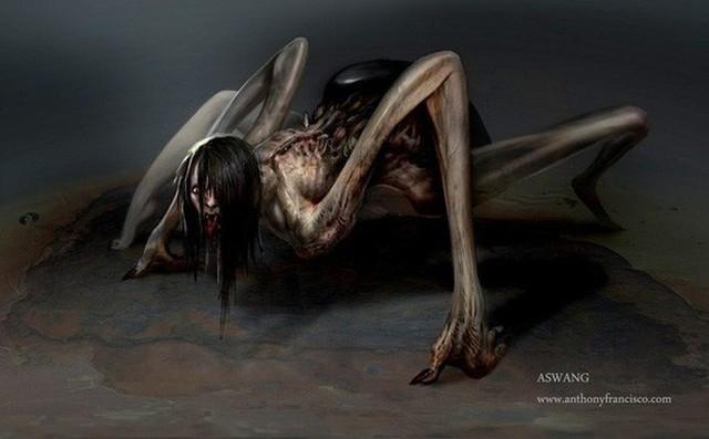 Song trùng Aswang: Con quỷ chuyên ăn thai nhi và giả mạo hình dạng - Ảnh 2.