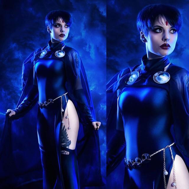 Nữ cường nhân trong thế giới siêu anh hùng của Marvel và DC đẹp rụng tim qua loạt ảnh cosplay - Ảnh 14.