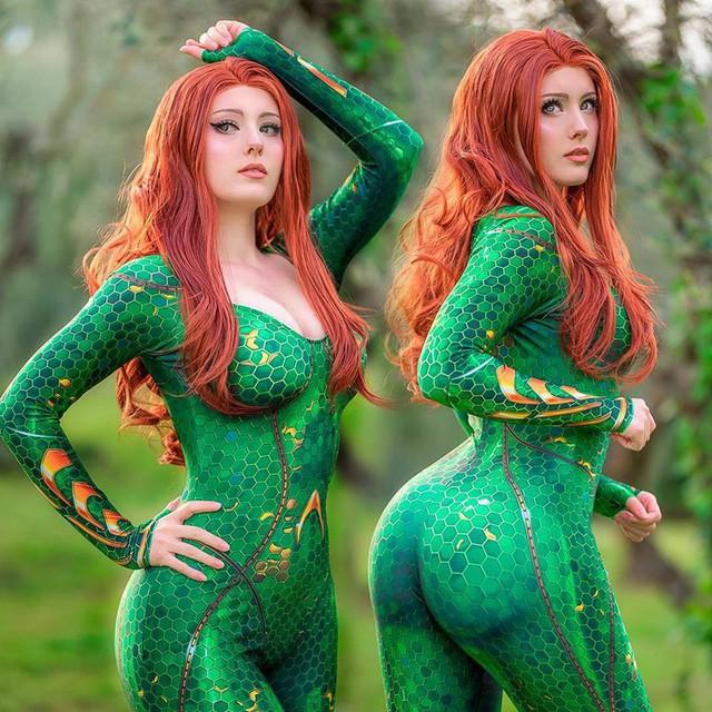 Nữ cường nhân trong thế giới siêu anh hùng của Marvel và DC đẹp rụng tim qua loạt ảnh cosplay - Ảnh 12.