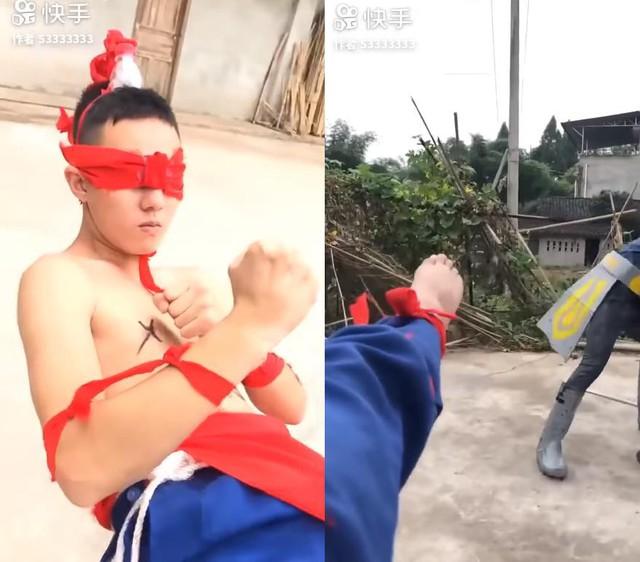 LMHT: Chết cười với phim live-action của game thủ Trung Quốc, tái hiện LMHT theo phong cách... tiết kiệm - Ảnh 10.
