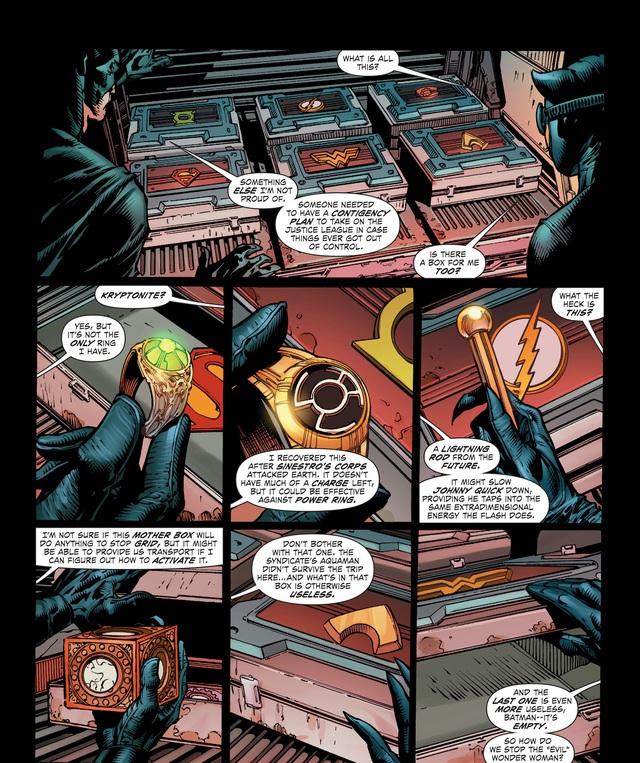 Không chỉ Batman, Wonder Woman cũng có chiến lược để hạ gục Justice League? - Ảnh 2.