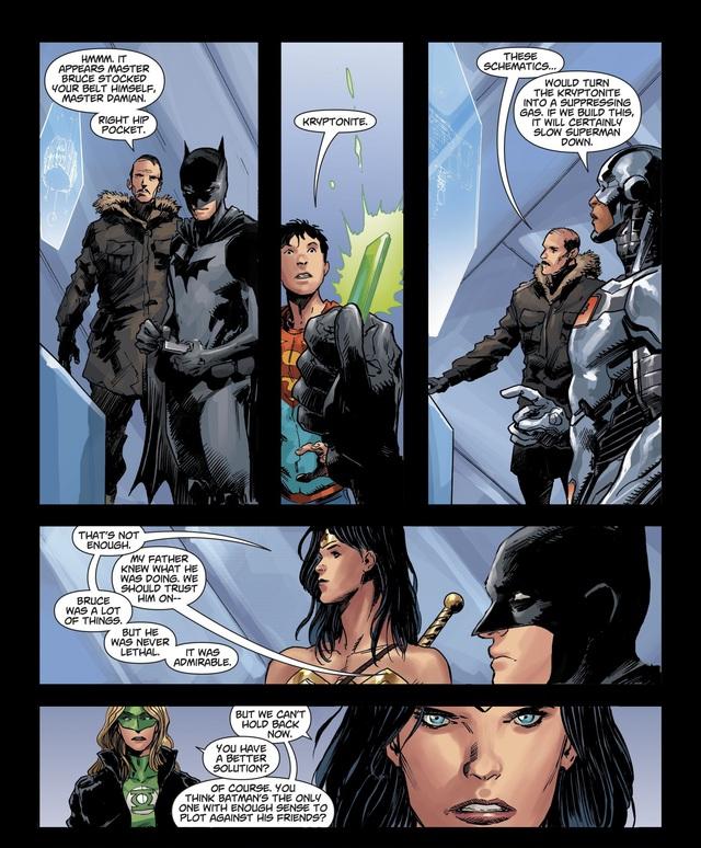 Không chỉ Batman, Wonder Woman cũng có chiến lược để hạ gục Justice League? - Ảnh 6.