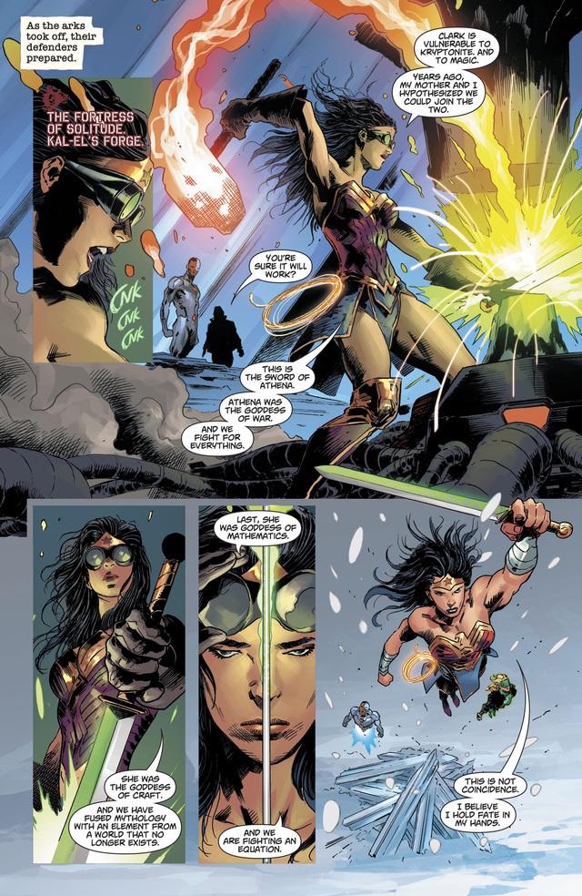 Không chỉ Batman, Wonder Woman cũng có chiến lược để hạ gục Justice League? - Ảnh 7.