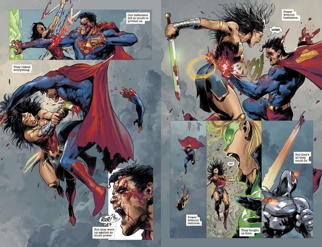 Không chỉ Batman, Wonder Woman cũng có chiến lược để hạ gục Justice League? - Ảnh 8.