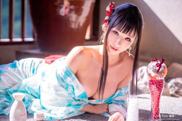 Thiếu nữ xinh đẹp khoe đôi gò bồng đảo quyến rũ tại nhà tắm suối nước nóng - Ảnh 7.