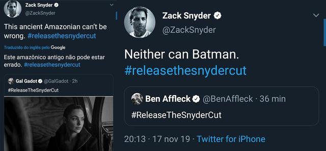Thánh chiến #ReleaseTheSnyderCut bùng nổ, liệu sẽ còn cơ hội nào cho Warner Bros? - Ảnh 3.