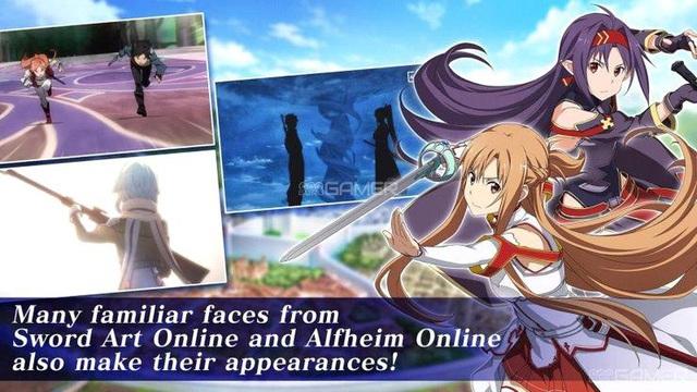 Sword Art Online xuất hiện phiên bản di động RPG cực đỉnh - Ảnh 2.