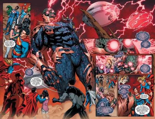 Justice League #36: Brainiac 1 Củ bị biến thành ghế ngồi, Batman lại thể hiện độ chịu chơi - Ảnh 4.