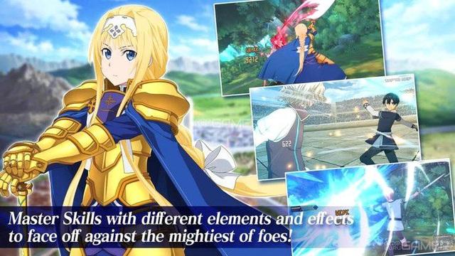 Sword Art Online xuất hiện phiên bản di động RPG cực đỉnh - Ảnh 4.