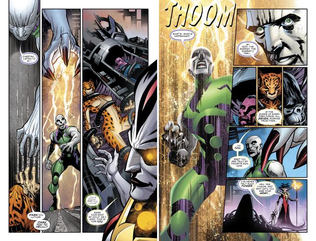 Justice League #36: Brainiac 1 Củ bị biến thành ghế ngồi, Batman lại thể hiện độ chịu chơi - Ảnh 7.