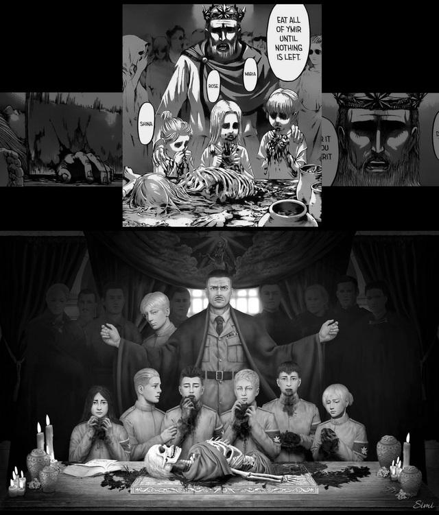 Lặng người khi ngắm loạt fan art Attack on Titan chất đến từng bức hình - Ảnh 23.