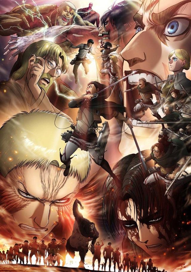 Lặng người khi ngắm loạt fan art Attack on Titan chất đến từng bức hình - Ảnh 15.