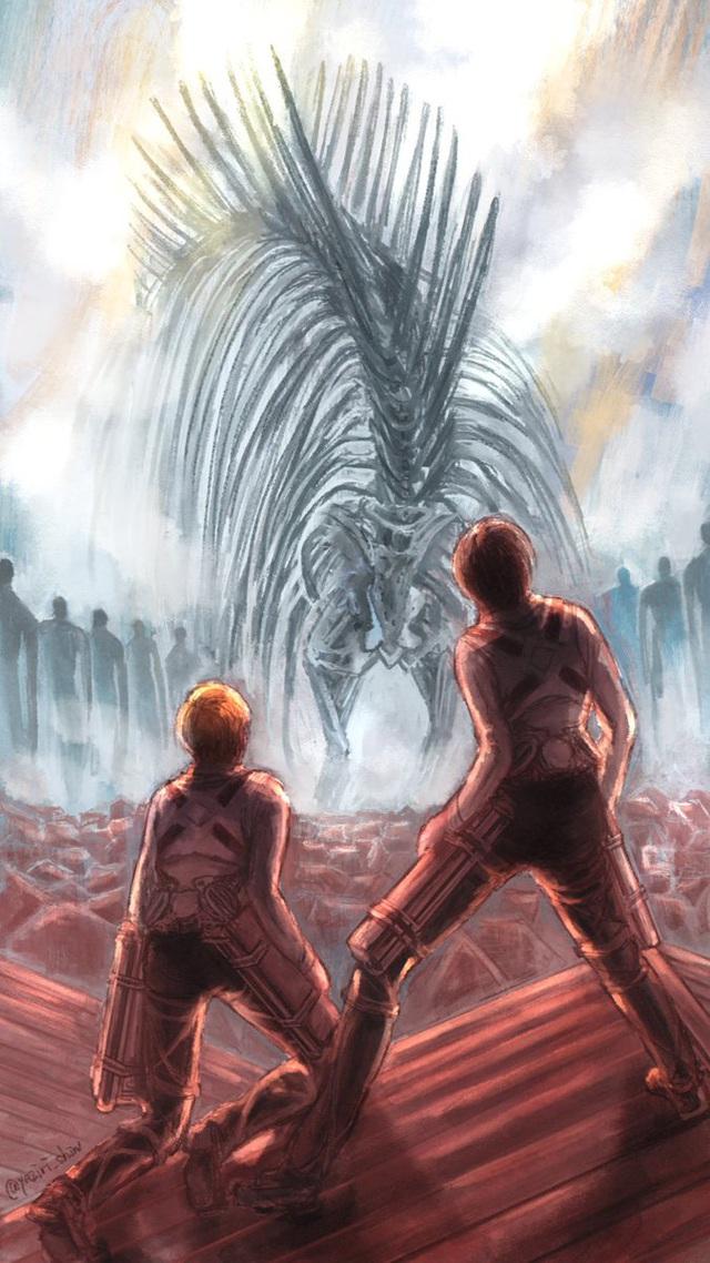 Lặng người khi ngắm loạt fan art Attack on Titan chất đến từng bức hình - Ảnh 19.