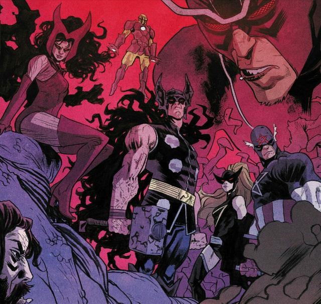 Sentry sẽ trở thành thủ lĩnh của đội Avengers đến từ... Vũ Trụ Ung Thư - Ảnh 1.