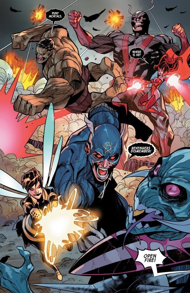 Sentry sẽ trở thành thủ lĩnh của đội Avengers đến từ... Vũ Trụ Ung Thư - Ảnh 6.