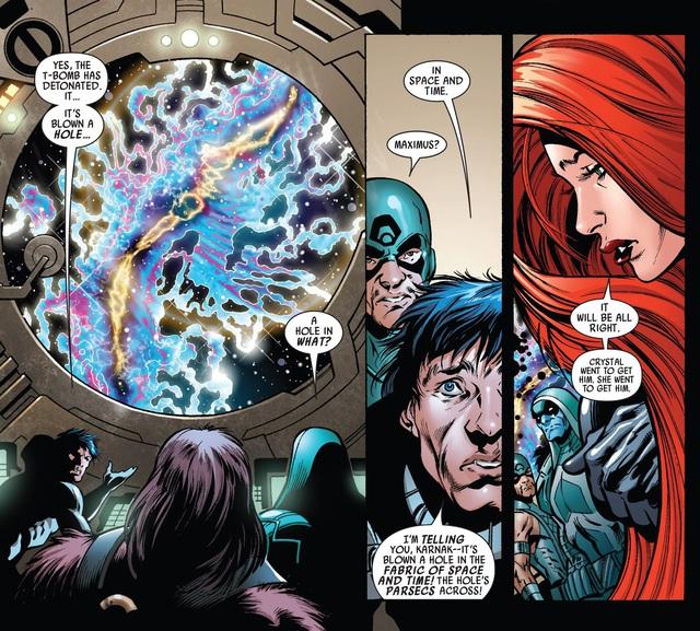 Sentry sẽ trở thành thủ lĩnh của đội Avengers đến từ... Vũ Trụ Ung Thư - Ảnh 3.
