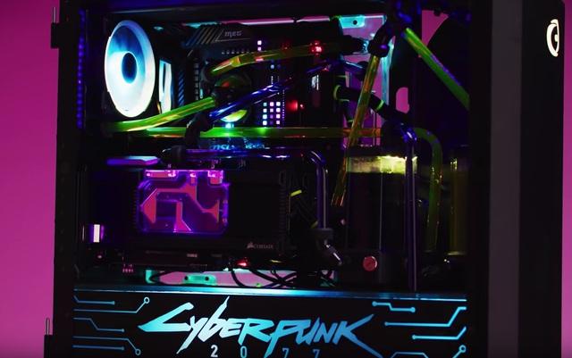 Bộ PC độ phong cách Cyberpunk 2077 đẹp chết ngất mà mạnh cũng phát khùng có giá loanh quanh 150 triệu đồng - Ảnh 5.
