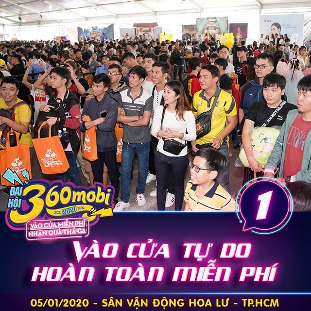 """Đại hội 360mobi 2020 - Hứa hẹn """"đốt cháy"""" làng game Việt những ngày đầu năm - Ảnh 1."""