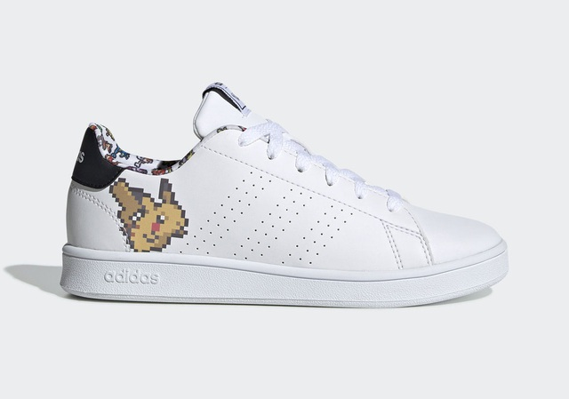 Adidas lại khiến fan Pokemon chết mệt với đôi sneaker pikachu 8bit chất lừ - Ảnh 2.