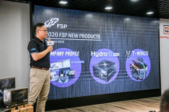 FSP giới thiệu bộ nguồn chống ẩm siêu cao cấp bảo hành 10 năm và bộ case 2 trong 1 cực xịn xò tại Việt Nam - Ảnh 2.