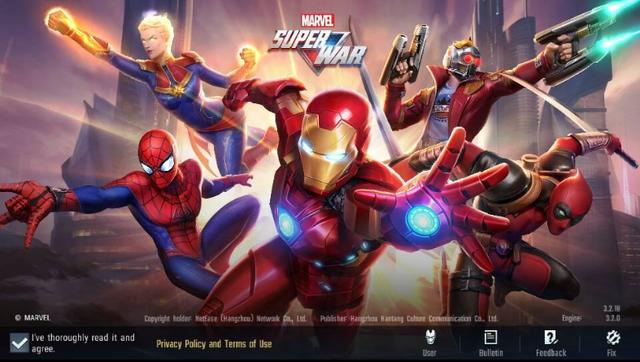 MARVEL Super War - Đại kình địch của Liên Quân Mobile ra mắt, sở hữu: 42 tướng, 62 skin, đủ các mode cơ bản - Ảnh 1.