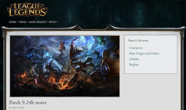 Cảm thấy quá bất tiện, Game thủ đề xuất Riot Games đưa thông tin bản Update trực tiếp vào client LMHT - Ảnh 3.