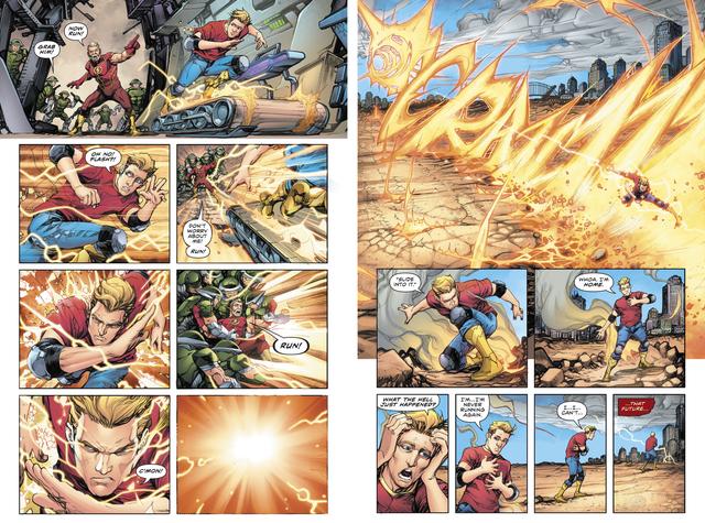 Tin được không: Quicksilver từng sở hữu năng lực du hành thời gian như Flash vậy - Ảnh 3.