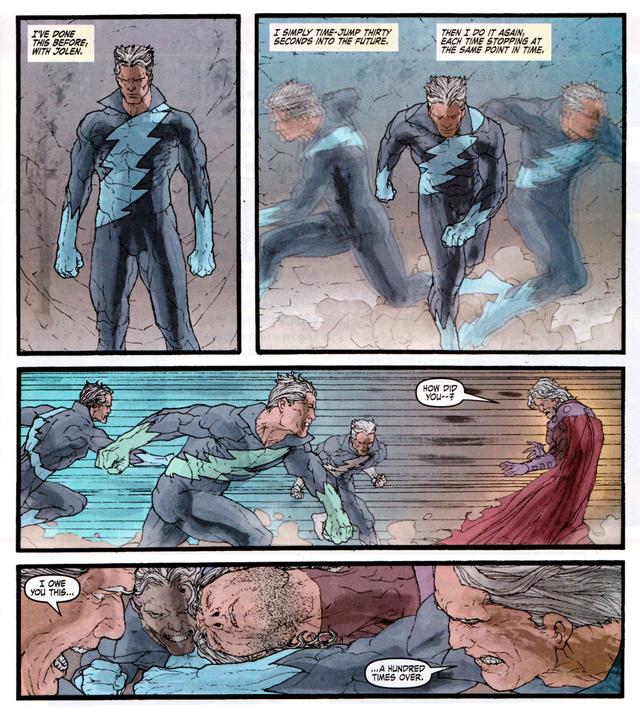 Tin được không: Quicksilver từng sở hữu năng lực du hành thời gian như Flash vậy - Ảnh 7.