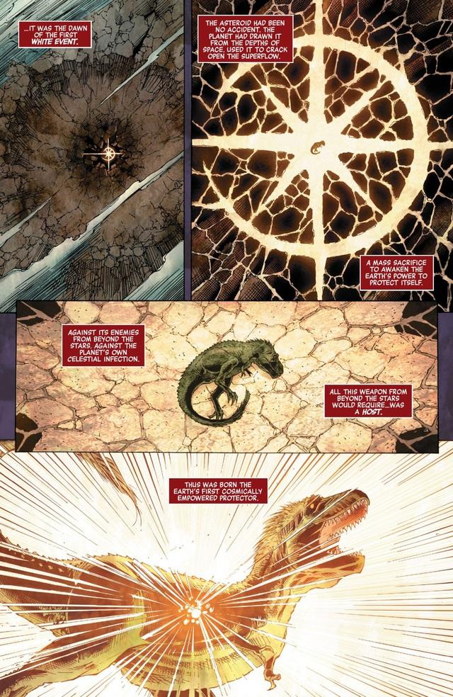 Có thể bạn chưa biết: Khủng long bạo chúa chính là... siêu anh hùng đầu tiên của vũ trụ Marvel - Ảnh 2.