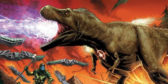 Có thể bạn chưa biết: Khủng long bạo chúa chính là... siêu anh hùng đầu tiên của vũ trụ Marvel - Ảnh 4.