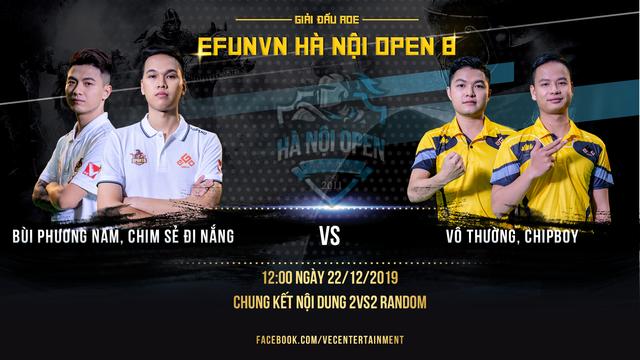 Chim Sẻ Đi Nắng thể hiện sức mạnh áp đảo tại vòng bảng EFUNVN Hà Nội Open 8 Championship - Ảnh 1.