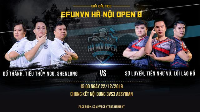 Chim Sẻ Đi Nắng thể hiện sức mạnh áp đảo tại vòng bảng EFUNVN Hà Nội Open 8 Championship - Ảnh 3.
