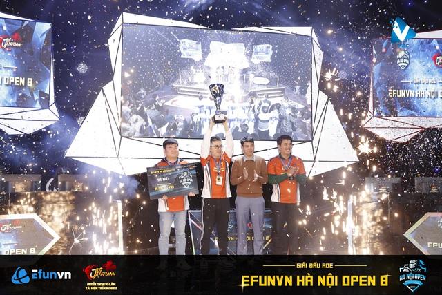 EFUNVN Hà Nội Open 8 Championship: Nỗ lực và thời khắc nâng cao chiếc Cup! - Ảnh 1.