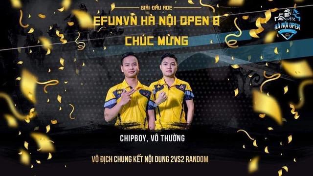 EFUNVN Hà Nội Open 8 Championship: Nỗ lực và thời khắc nâng cao chiếc Cup! - Ảnh 2.
