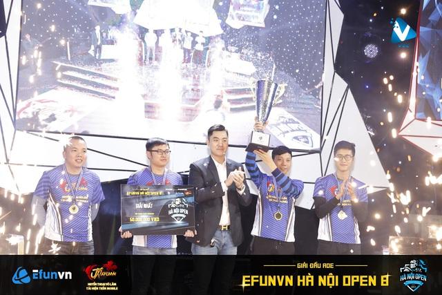 EFUNVN Hà Nội Open 8 Championship: Nỗ lực và thời khắc nâng cao chiếc Cup! - Ảnh 3.