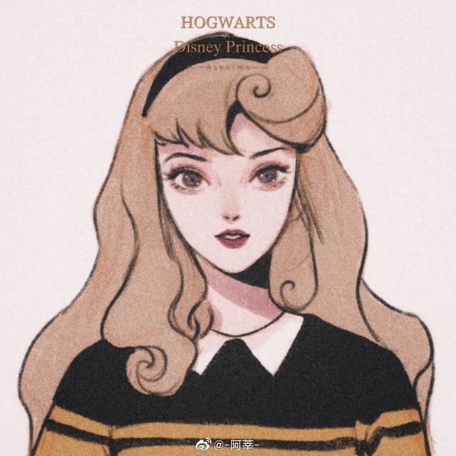 Lạ lẫm khi thấy dàn công chúa Disney du học đến trường Hogwarts trong Harry Potter - Ảnh 8.