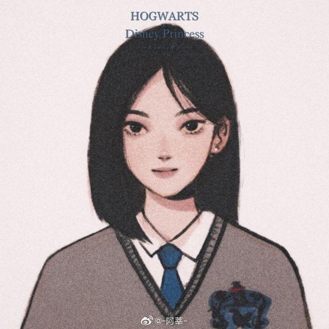 Lạ lẫm khi thấy dàn công chúa Disney du học đến trường Hogwarts trong Harry Potter - Ảnh 6.