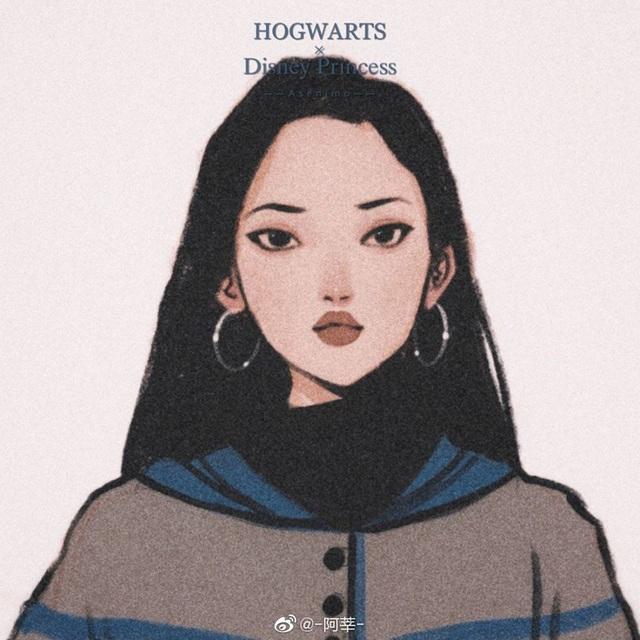 Lạ lẫm khi thấy dàn công chúa Disney du học đến trường Hogwarts trong Harry Potter - Ảnh 10.