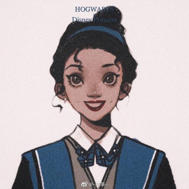 Lạ lẫm khi thấy dàn công chúa Disney du học đến trường Hogwarts trong Harry Potter - Ảnh 13.