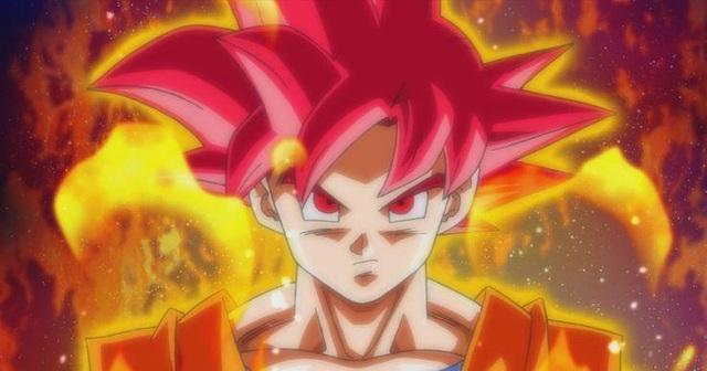 Dragon Ball: So sánh sức mạnh của Goku khi ở trạng thái Super Saiyan God và Super Saiyan 4 - Ảnh 1.