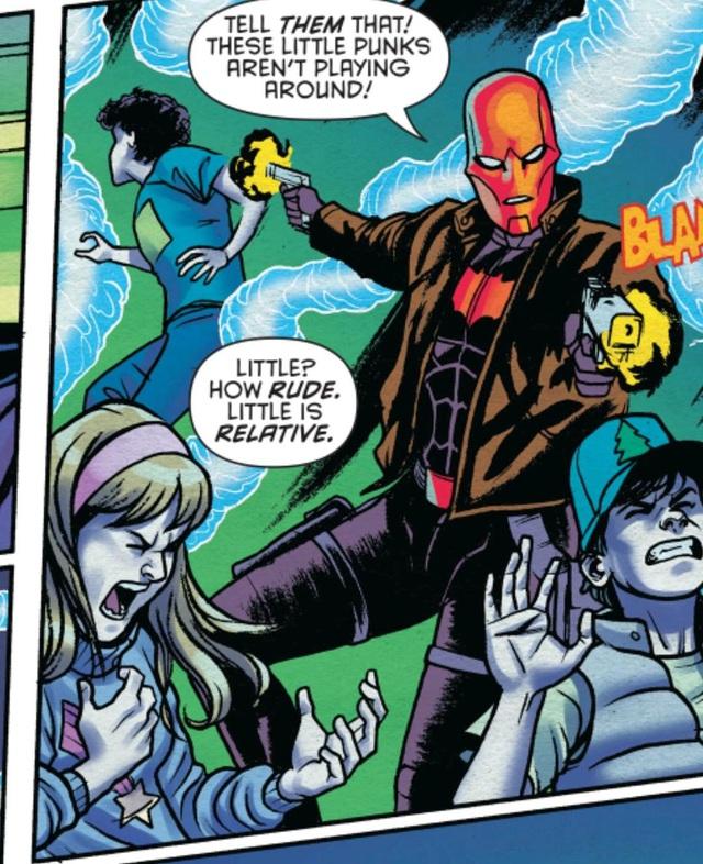 Harry Potter, Vegeta và những nhân vật nổi tiếng từng xuất hiện trong vũ trụ Marvel và DC - Ảnh 2.