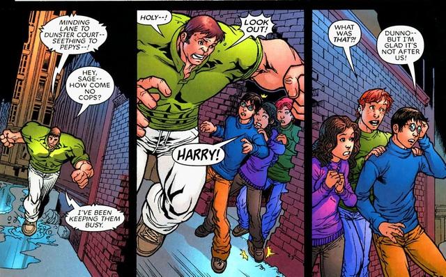 Harry Potter, Vegeta và những nhân vật nổi tiếng từng xuất hiện trong vũ trụ Marvel và DC - Ảnh 1.