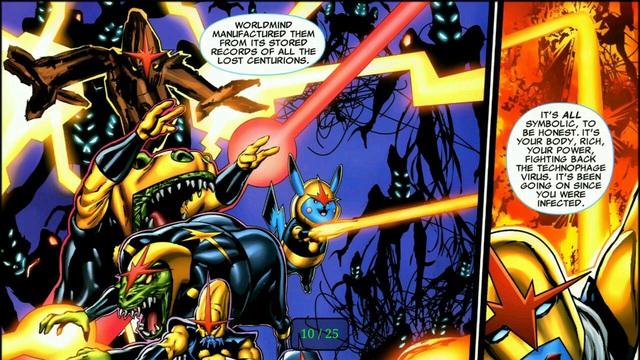 Harry Potter, Vegeta và những nhân vật nổi tiếng từng xuất hiện trong vũ trụ Marvel và DC - Ảnh 8.