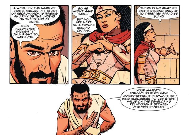 Bí ẩn siêu cấp vũ trụ: Tại sao tộc người Amazon của Wonder Woman lại bất tử? - Ảnh 3.