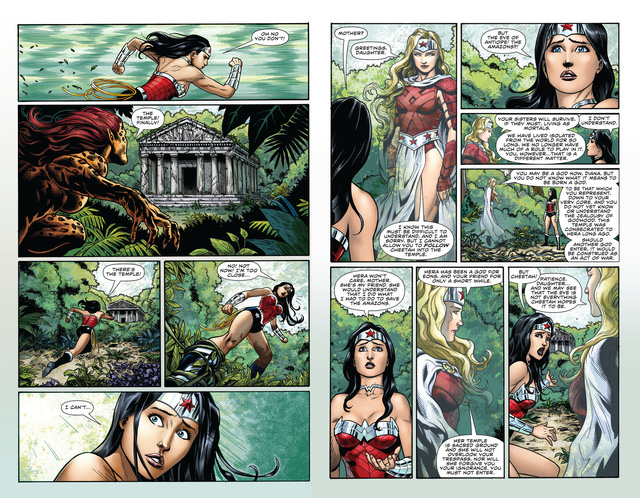 Bí ẩn siêu cấp vũ trụ: Tại sao tộc người Amazon của Wonder Woman lại bất tử? - Ảnh 2.