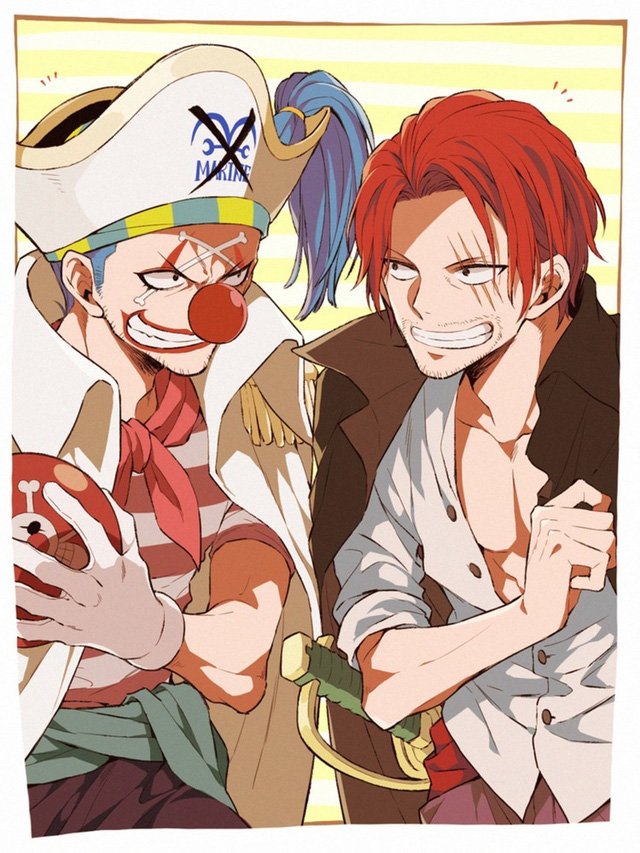 One Piece: Hóa ra Shanks và Buggy cũng đã từng có 1 thời mặn nồng, sẵn sàng hy sinh vì nhau - Ảnh 9.