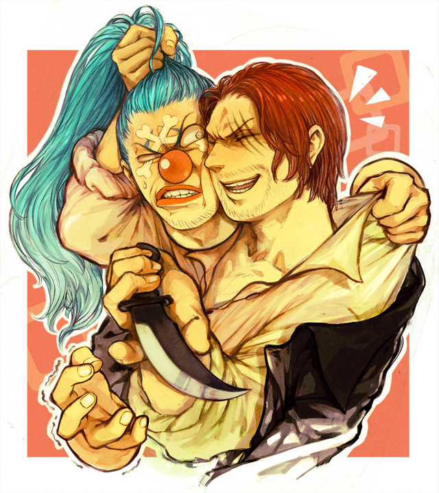 One Piece: Hóa ra Shanks và Buggy cũng đã từng có 1 thời mặn nồng, sẵn sàng hy sinh vì nhau - Ảnh 10.